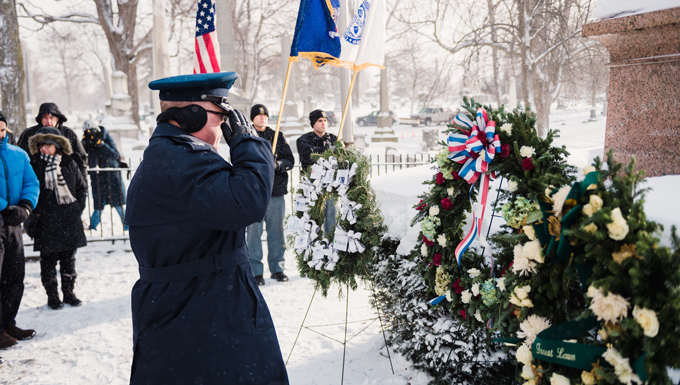 N.Y. Air Guard Honors Former President and Buffalo Native